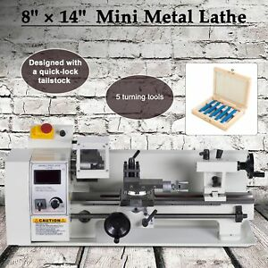 600w 8 X 14 Variable speed Mini Metal Lathe Machine