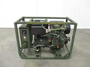 Dewey Electronics 531a 2 Kw Tactical Military Diesel Generator Gen Set 120 V 60h
