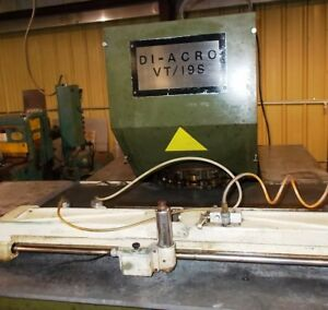 Diacro Vt 19 s Power Turret Punch Press