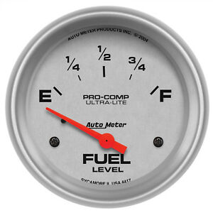 Autometer 4417 Ultra lite 2 5 8 Fuel Level 0 30 Ohms Electrical
