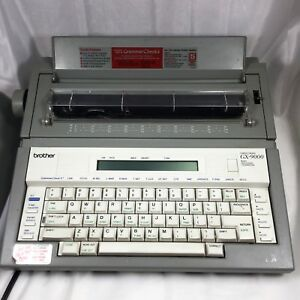 Brother Gx 9000 Correctronic Word Processing Electronic Typewriter Portable Guc
