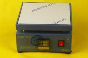 New Preheating Station Electronic Hot Plate Welding Soldering Preheat 946c 110v