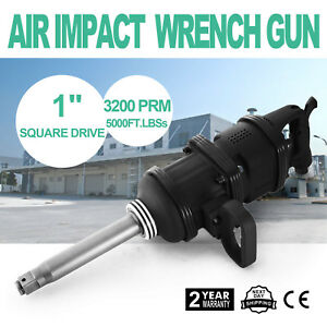 New Air Impact Wrench Tool Gun 1inch Drive 2400 Ft lbs Torque Pneumatic Tools