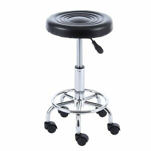 Office Lab Professional Doctor Exam Stool Dental Adjustable Medical Chair Wheels