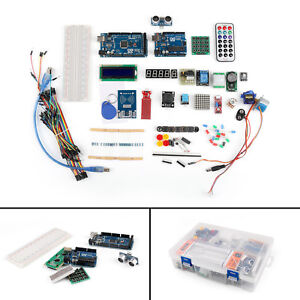 Super Uno Diy Mega 2560 Lcd1602 Hc sr04 Starter Kit For Arduino Rfid Relay