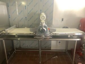 Reversible Dough Sheeter Table Top 1 Phase New Bakery Dough Roller