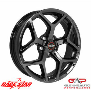 Race Star 18x5 95 850145bc 2005 2015 Mustang 95 Recluse Black Chrome