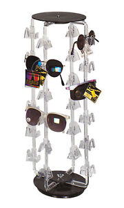 Rotating Eyeglass sunglass Display Holds 24 Pairs Rotating Stand