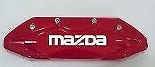 Mazda Brake Caliper High Temp Vinyl Decal Stickers Set Of 4 Choose Color