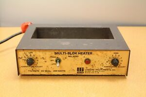 Lab line Multi blok Heater No 2093 Dry Bath Incubator