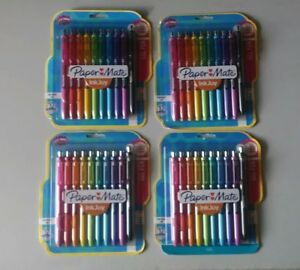 Paper Mate Inkjoy 0 7mm Medium Point Gel Pens 4x10 Count 40 New