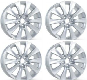 New 18 X 8 Replacement Wheel For Honda Accord 2008 2009 2010 Silver Rim 63937