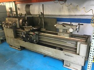 Ikegai Engine Lathe A 20 20 X 60 Metric 10hp 60 Between Centers