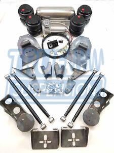 Complete 1973 1991 C20 C30 Pickup Truck Air Ride Suspension Lowering System Kit