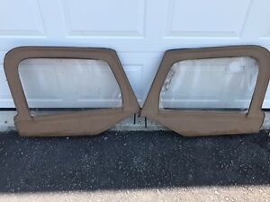 Jeep Wrangler Tj 97 06 Half Door Upper Uppers Tan