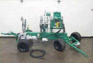 Mcelroy 28 Rolling Pipe Fusion Machine Plastic Welder
