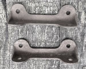 Original Model T Ford Firewall To Floorboard Riser Brackets