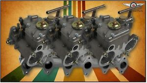 Ford X flow Alloy Head Fajs Triple 45 Dcoe weber Sidedraft Carburettor Kit
