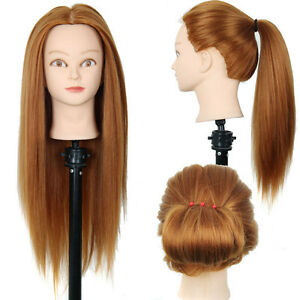Mannequin Hair Head Wig Display Model Styrofoam Manikin Foam Glasses Female Hat