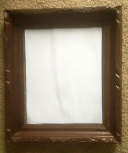 Beautiful Old Vintage Wooden Picture Frame