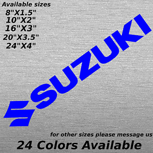Custom Suzuki Window Windshield Decal Sticker Bumper Samurai B