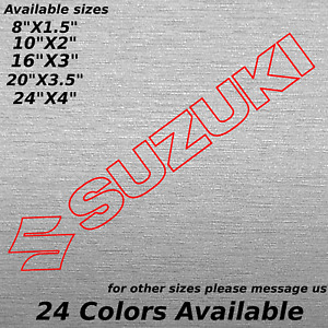 Custom Suzuki Window Windshield Decal Sticker Bumper Samurai C