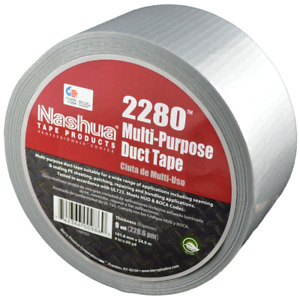 2280 Multi purpose Duct Tape Silver 60yd X 1 89in X 9mil Nashua case Of 24