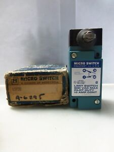 New Honeywell Micro Switch Lsf3k Limit Switch 600vac Nema 600 10a Nib