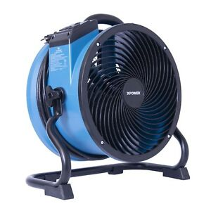 Xpower X 39ar 1 4 Hp Industrial Sealed Motor Axial Fan Floor Air Mover W Outlets
