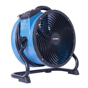 Xpower X 39ar 2100 Cfm Industrial Sealed Motor Axial Fan Air Mover W Outlets