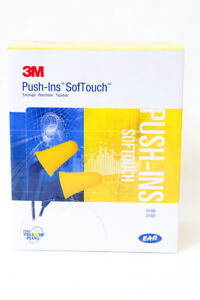 3m Push ins Softtouch Ear Plugs Uncorded 318 4000 200 Pair