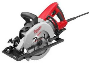 7 1 4in Corded Lightweight Magnesium Worm Drive Circular Saw W Electric Brake