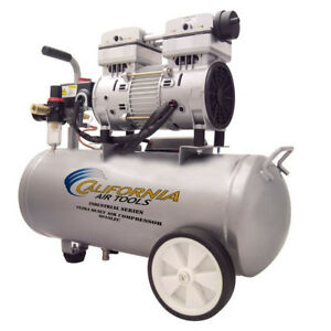 California Air Tools 6010lfc 1 Hp 6 Gal Steel Air Compressor Cat 6010lfc New