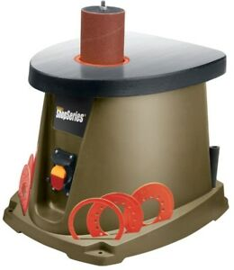 Oscillating Spindle Sander W 21 piece Accessory Kit And Rubber Foot Pad 3 5 Amp