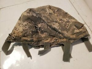 ACH Helmet Cover USGI Issue ACU Digital Small Medium IR Tabs Fair Condition