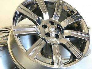 20 Rims Fit Land Rover Range Rover Stormer Autobiography Pvd Finish 5x120mm