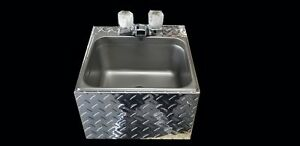 Large Hand Wash Sink Food Cart Truck Trailer