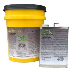 Heal And Seal 2k Concrete Sealer 5 Gallon Kit
