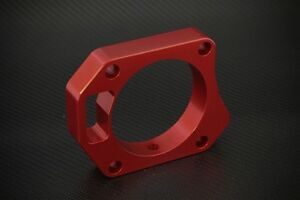 Throttle Body Spacer Red Honda Civic Si 2006 2011 70mm Free Shipping