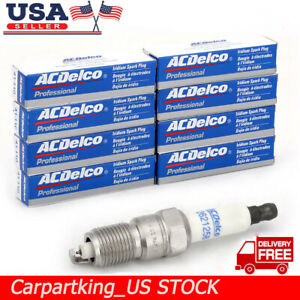8x Ac Iridium Spark Plugs 41 110 12621258 For Chevrolet Buick Gmc Hummer Saab Us