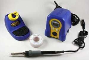 Hakko Fx888d Digital Station With Chemtronics 10 50l Soder wick 50ft Desoldering