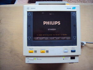 Philips M3046a M3 Patient Monitor Tested Working Condition