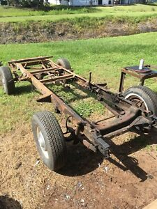 1955 1956 1957 Chevy Truck Rolling Chassis