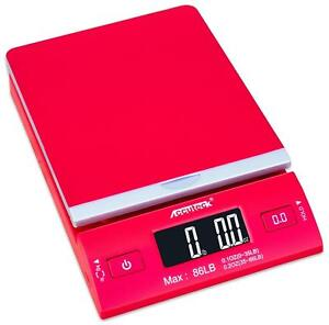 Accuteck Dreamred 86 Lbs Digital Postal Scale Shipping Scale Posta