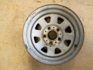 5 Lug 15x8 Steel Sport Wheel Chevy Gmc Truck 73 87 Wagon Spoke C 10