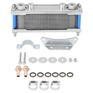 Upgraded Engine Oil Cooler Cooling Radiator For Motorcycle Dirt Bike 50cc 200cc