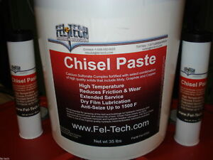 Fel tech Hydraulic Hammer Breaker Grease Chisel Paste 6 Tubes Sold Worldwide