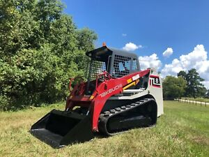 2015 Takeuchi Tl8 Skid Steer With Tracks Nice Unit L k Financing Shipping