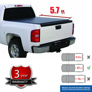 Soft Roll Up Tonneau Cover Fit 09 18 Ram 1500 10 18 Ram 2500 5 7 Fleetside Bed