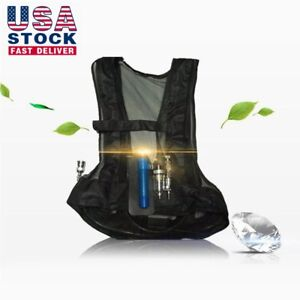 Compressed Air Cooling Welding Vest Vortex Tube Air Conditioner Waistcoat